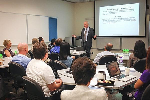 Andrys Onsman, University of Hong Kong, 2013
